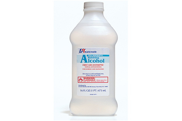 Bote de alcohol farmaceutico