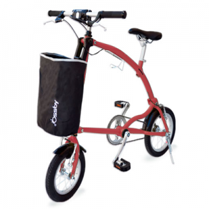 Bicicleta Plegable Ossby color Rojo
