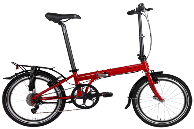 Bicicleta Dahon Speed p8 color rojo